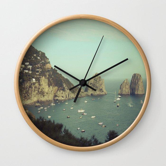 Amalfi coast, Italy 2 Wall Clock