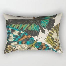 E.A.Séguy - Papillons / Butterflies (1925) Plate 10 Rectangular Pillow