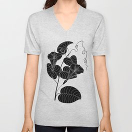 Bush Potato (Also known as Desert Yam) - Ipomoea costata Unisex V-Neck