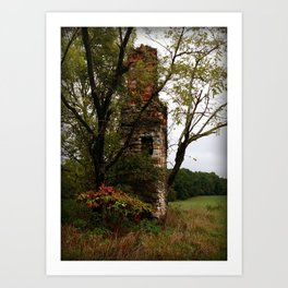 Only Thing Left Standing Art Print