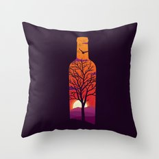 Bottled Up  Throw Pillow