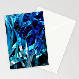 ribbon flow Stationery Cards