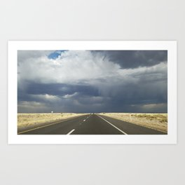 Route 66 Storm Art Print