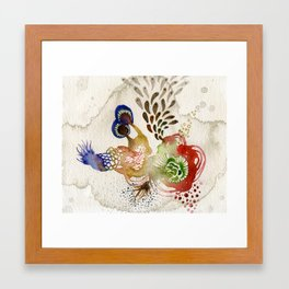 Energy extension Framed Art Print