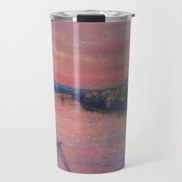 Racing the Sunset Travel Mug