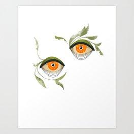 citrus in the bushes ~ Art Print