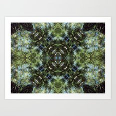 Reflection Kaleidoscope Art Print