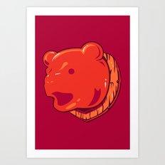 Bear prize Art Print