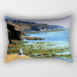 The world Is So Big And I Am So Small ~Southern California Rectangular Pillow