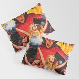 Satan's Cheeleaders 1977 Vintage Movie Poster Pillow Sham