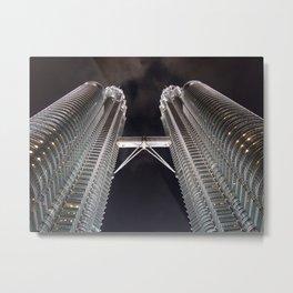 Petronas Twin Tower, Malaysia Metal Print