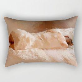 NaturalRed Rectangular Pillow