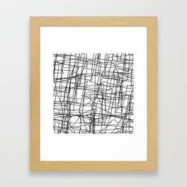 Mind Map Framed Art Print