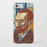 van gogh iPhone & iPod Cases featuring Van Gogh by Nicolae Negura