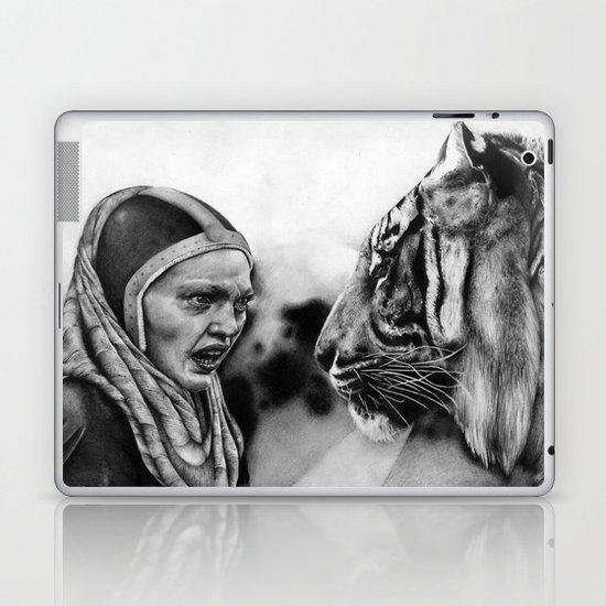 In the Eye of the Tiger Laptop & iPad Skin