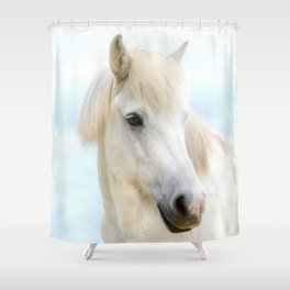 Icelandic Horse Shower Curtain
