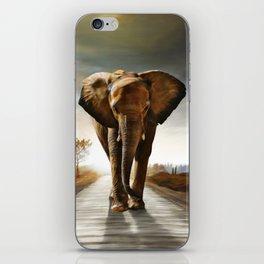 The Elephant iPhone Skin