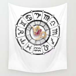 Capricorn Astrological Signs Capricorn Baby Chinese Astrology Lovers Wall Tapestry