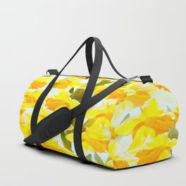 Spring Breeze With Yellow Flowers #decor #society6 #buyart Duffle Bag