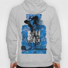 Foral Fashion Blue Hoody