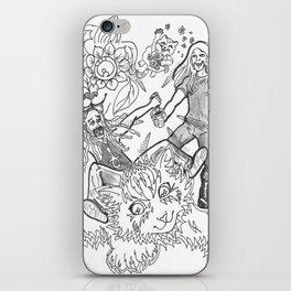 I Sees Kitties! iPhone Skin
