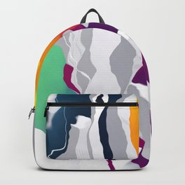 Who squashed the skyline Backpack
