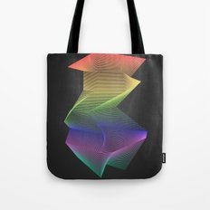 Angular Rainbow Tote Bag