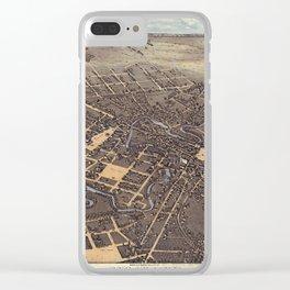 San Antonio 1873 Clear iPhone Case