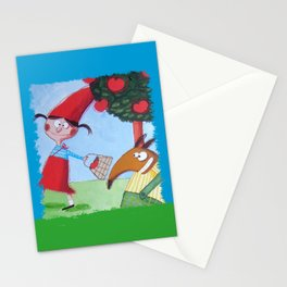 Cappuccetto Rosso -1 Stationery Cards