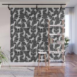 Yoga Goats Doing Goat Yoga Wall Mural
