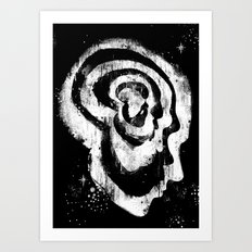 The Evolution of Man Art Print