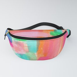 Acrylic Painting Modern Abstract Pattern - Welcome To My Fantasy Fanny Pack