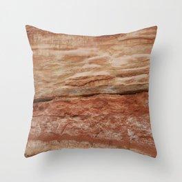 Jurassic Coast Throw Pillow