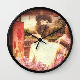 Kimono Wall Clock