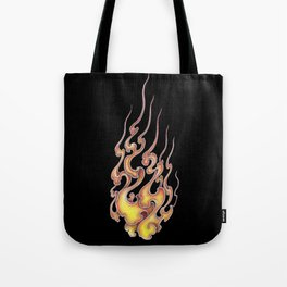 Fire pattern of Japan Tote Bag