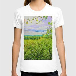 Parbold Hill (Digital Art) T-shirt