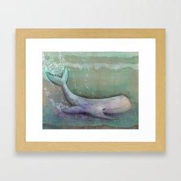 Hidden Depths Framed Art Print