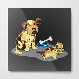 Cat's World 7 - Dad the Trickster Metal Print