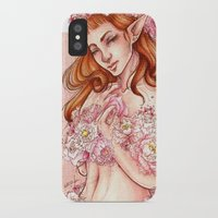 shield iPhone & iPod Cases featuring Shield by Raquel Amo Art