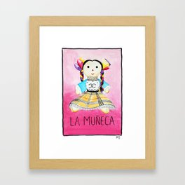 La Muñeca Framed Art Print