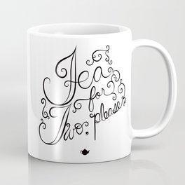 tea for two, please Coffee Mug