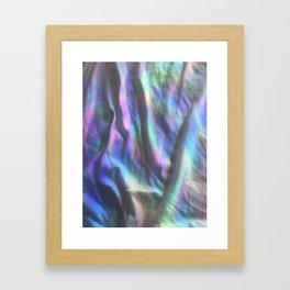 sheets of divinity Framed Art Print