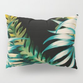 Leafy Blooms Pillow Sham
