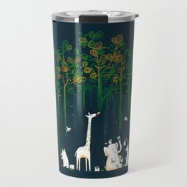 Re-paint the Forest Travel Mug
