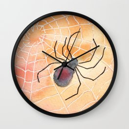 Halloween Spider 2016 Wall Clock