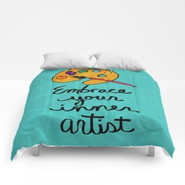 Embrace Your Inner Artist Comforters