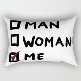 Me (Black Line) Rectangular Pillow