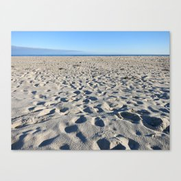 Beach in Southampton Canvas Print