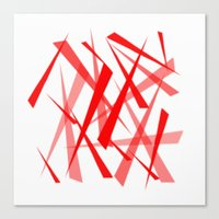 chaos Canvas Prints featuring chaos by Sébastien BOUVIER