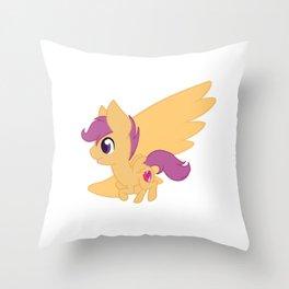 Chibi Scootaloo Throw Pillow